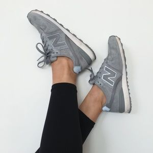 [New Balance] 574 Women's running shoes